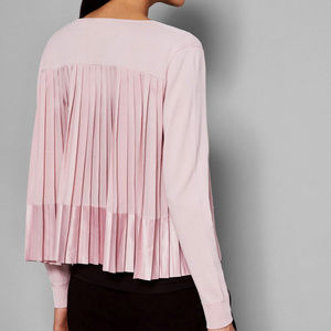 """Ted Baker London """"Jacsum"""" cardigan in blush"""